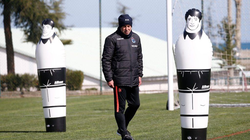 Abdullah Avcı'dan futbolculara şut emri