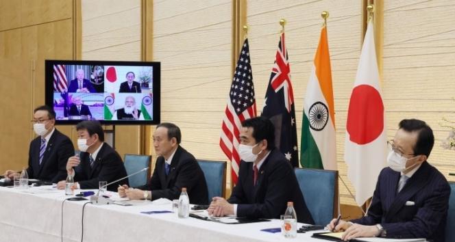 Japonya, ABD, Avustralya ve Hindistan liderlerinden dörtlü zirve