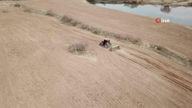 Atıl durumdaki tarım arazileri üretime kazandırılıyor